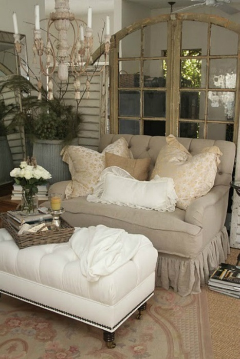 159 Best French Country Shab Chic Cottage Style Sofas Images certainly throughout Cottage Style Sofas and Chairs (Image 4 of 20)