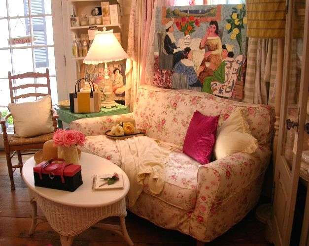 159 Best French Country Shab Chic Cottage Style Sofas Images good throughout Country Cottage Sofas and Chairs (Image 2 of 20)