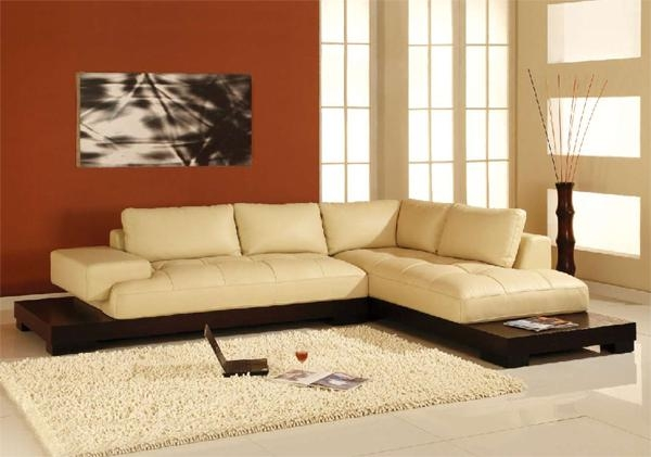 16 Cream Colored Leather Sofa Auto Auctions definitely regarding Cream Colored Sofas (Image 1 of 20)
