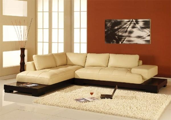 16 Cream Colored Leather Sofa Auto Auctions properly pertaining to Cream Colored Sofas (Image 2 of 20)