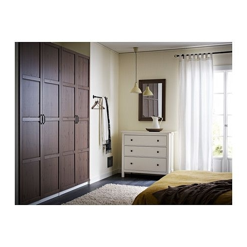 17 Best Built In Wardrobes Images On Pinterest good within Dark Wood Wardrobes Ikea (Image 1 of 30)