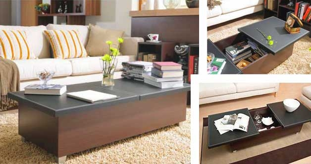 17 Furniture For Small Spaces Folding Dining Tables Chairs Well Throughout Sofa Table With Chairs (View 3 of 20)
