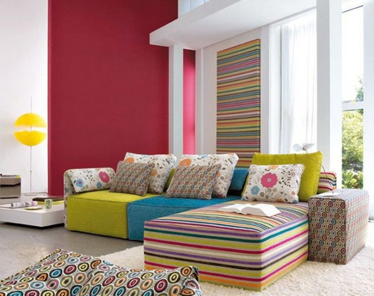 170 Best Living Room Images On Pinterest most certainly within Colorful Sofas And Chairs (Image 1 of 20)