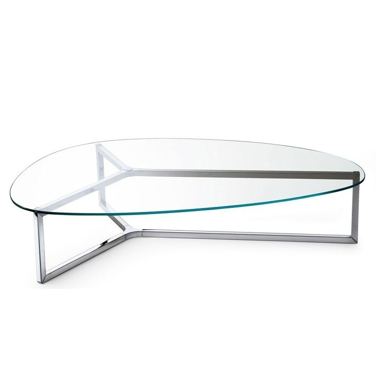 177 Best Glass Coffee Tables Images On Pinterest clearly for Oval Glass Coffee Tables (Image 1 of 20)