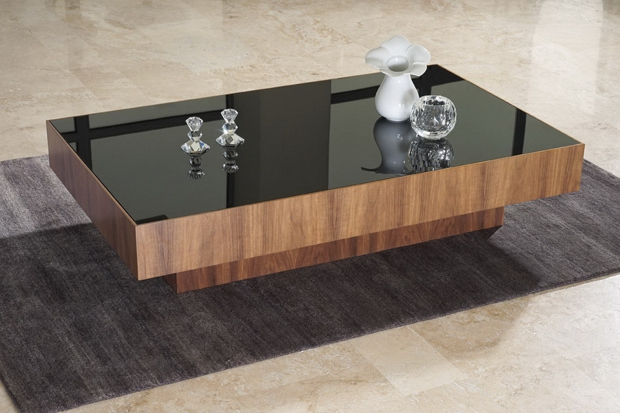 18 Awesome Coffee Tables Design With Unique Features Hgnv clearly within Unique Black Glass Coffee Table (Image 15 of 30)