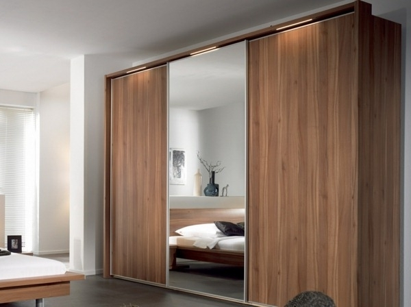19 Great Ideas Of Wardrobe With Sliding Doors Homedizz very well for Solid Wood Fitted Wardrobe Doors (Image 5 of 30)