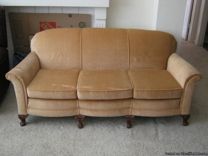 1930s Camelback Sofa Chair And Ottoman Price 875 For Sale In Clearly Inside 1930s Couch (View 10 of 20)