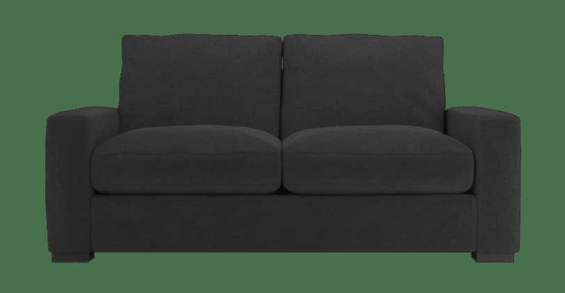 2 Seater Sofa most certainly throughout Black 2 Seater Sofas (Image 5 of 20)