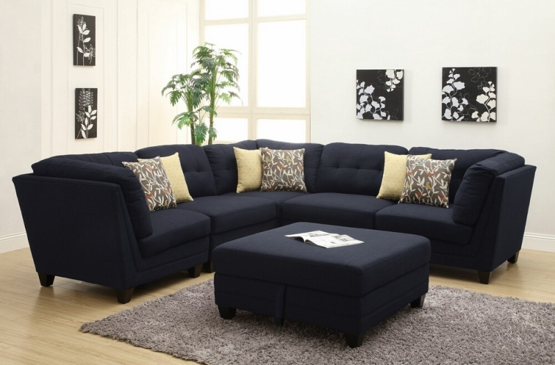 20 Awesome Modular Sectional Sofa Designs perfectly within Colorful Sectional Sofas (Image 3 of 20)