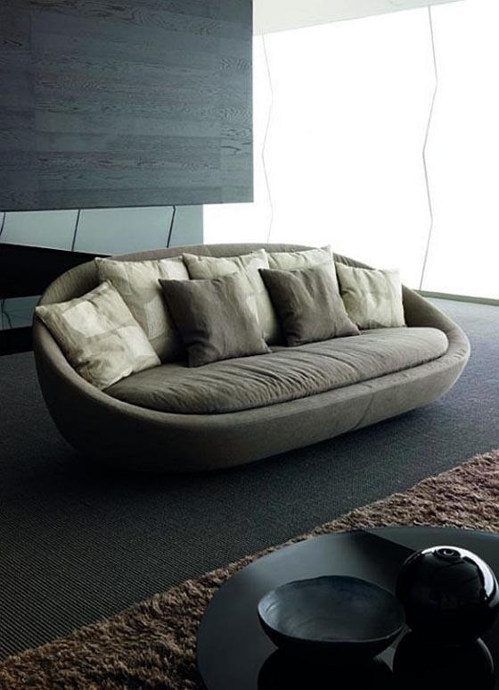 20 Best Sofas Images On Pinterest good pertaining to Oval Sofas (Image 1 of 20)