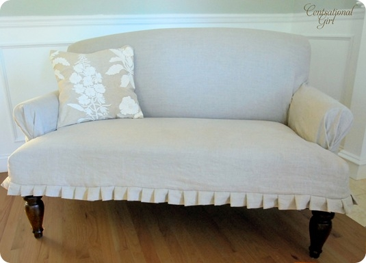 20 Diy Slipcovers properly with regard to Slipcovers For Chairs And Sofas (Image 1 of 20)
