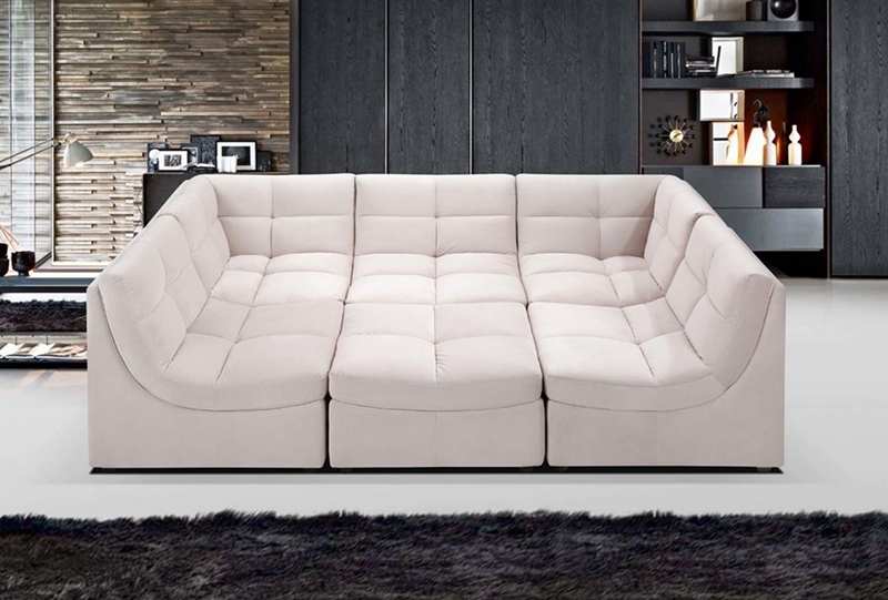 20 Jigsaw Sectional Sofa That Will Bring Comfort And Style In Your definitely with regard to 6 Piece Leather Sectional Sofa (Image 1 of 20)