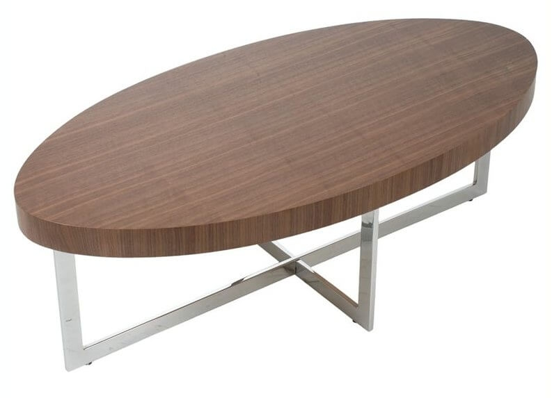 20 Top Wooden Oval Coffee Tables clearly inside Oval Walnut Coffee Tables (Image 1 of 20)