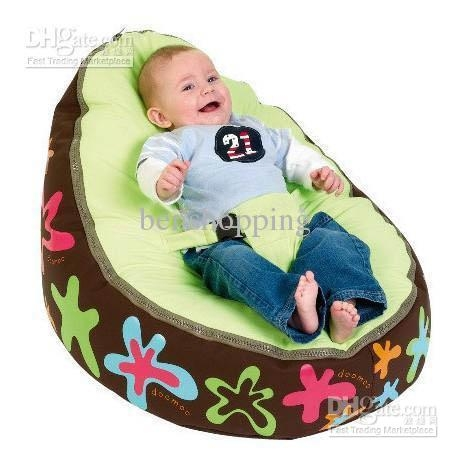 2017 2011 Doomoo Seat Cover Infant Bean Bag Sofa Cover Children nicely in Children Sofa Chairs (Image 1 of 20)