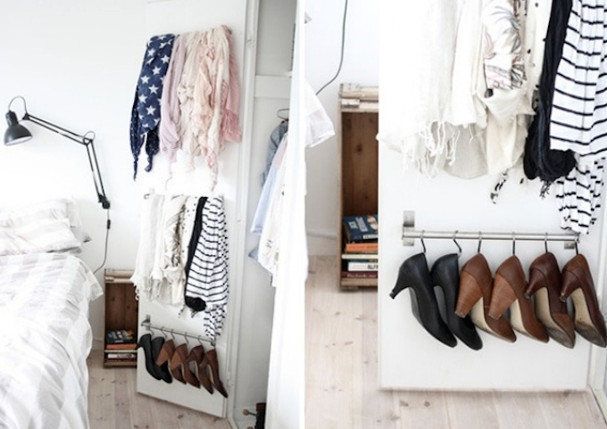 21 Brilliant Hacks For Your Tiny Wardrobe Expert Home Tips definitely inside Double Hanging Rail for Wardrobe (Image 25 of 30)