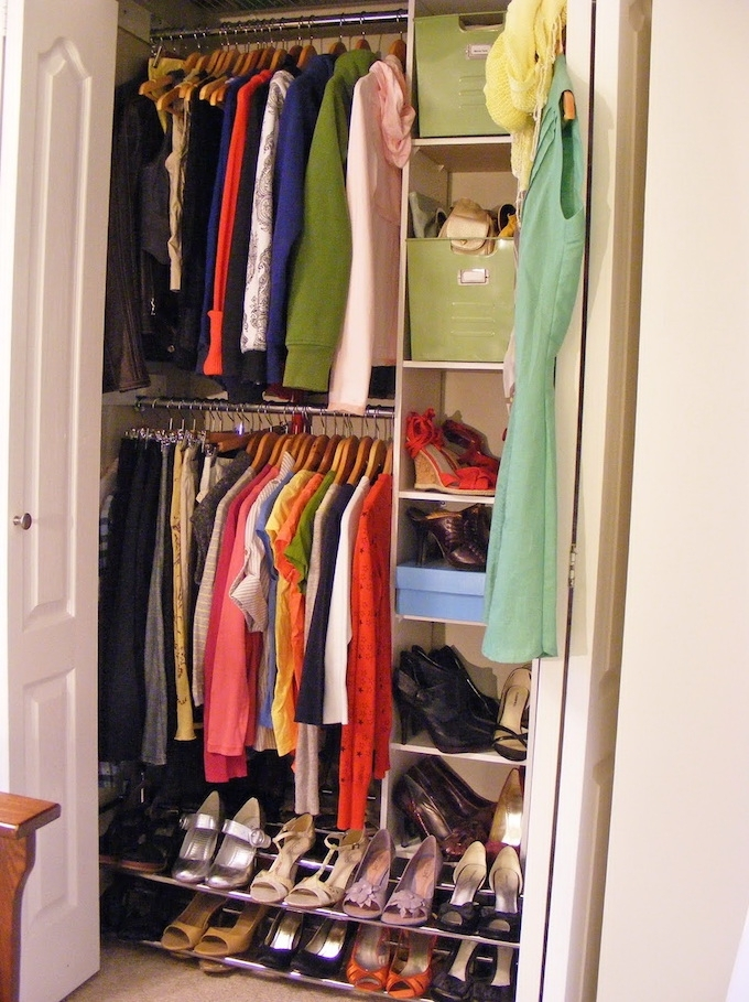 21 Brilliant Hacks For Your Tiny Wardrobe Expert Home Tips effectively pertaining to Large Double Rail Wardrobes (Image 23 of 30)