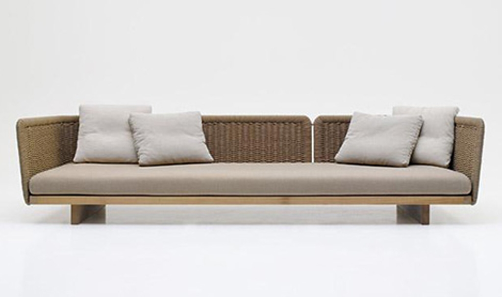 23 Outdoor Sofa Furniture Auto Auctions very well throughout Modern Rattan Sofas (Image 1 of 20)