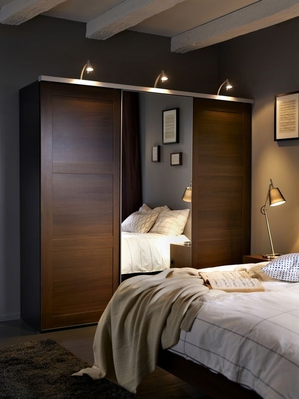 230 Best Wardrobes Master Bedroom Images On Pinterest well throughout Dark Wood Wardrobes Ikea (Image 11 of 30)