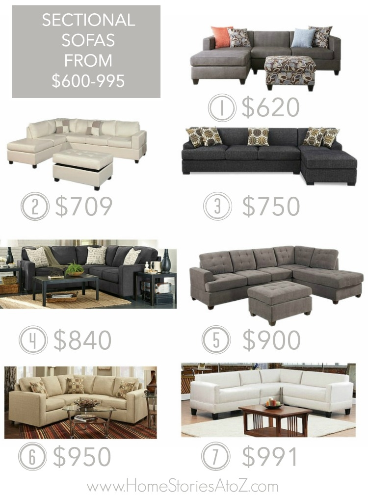 25 Affordable Sectional Sofas Best Sectional Sofa Ideas clearly with Sectional Sofas Under 600 (Image 1 of 20)