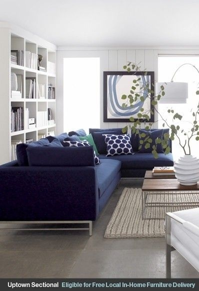 25 Best Blue Couches Ideas On Pinterest Navy Couch Blue Sofas Very Well Throughout Dark Blue Sofas (View 18 of 20)