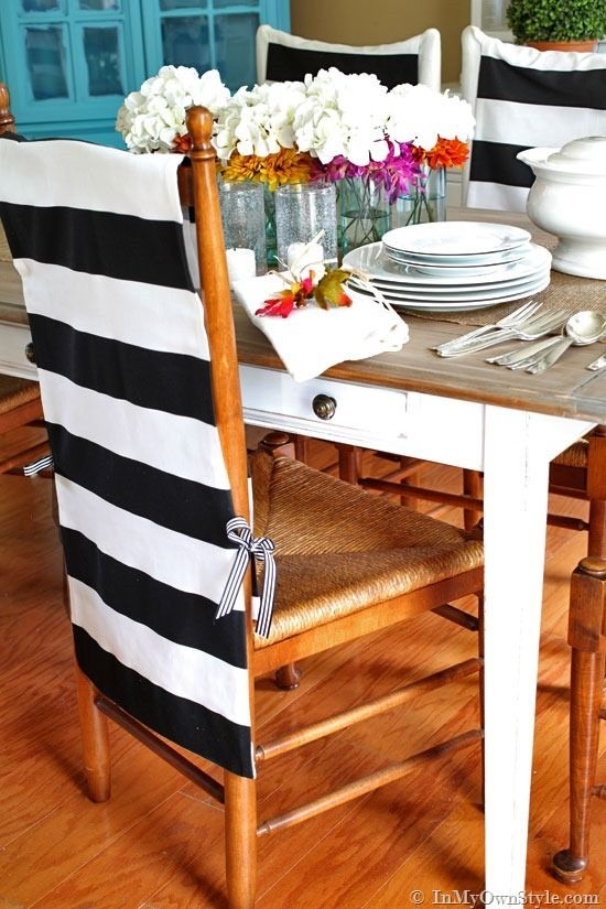 25 Best Kitchen Chair Covers Ideas On Pinterest Seat Covers For Properly Regarding Covers For Sofas And Chairs (View 3 of 20)