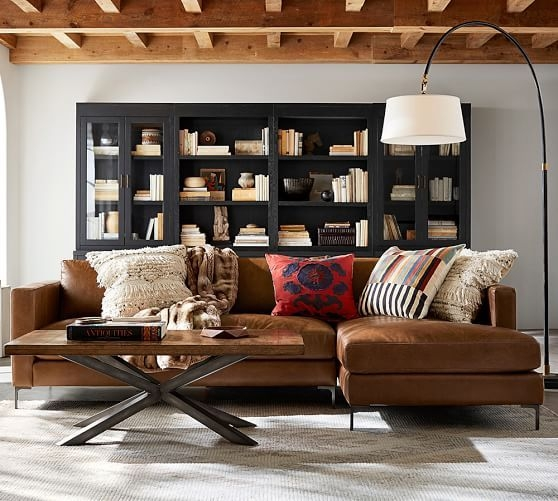 25 Best Leather Sectional Sofas Images On Pinterest most certainly with Vintage Leather Sectional Sofas (Image 2 of 20)