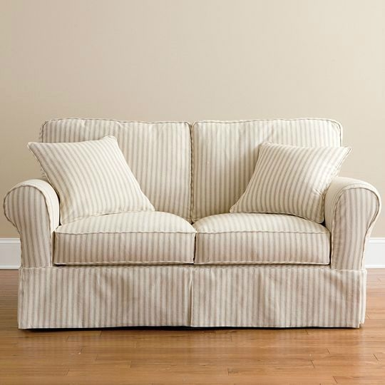25 Best Loveseat Slipcovers Images On Pinterest Clearly Throughout Slipcovers For Sofas And Chairs (View 3 of 20)