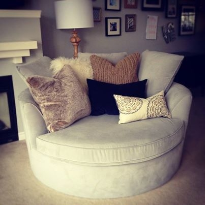 25 Best Round Chair Ideas On Pinterest Circle Chair Bedroom nicely intended for Big Round Sofa Chairs (Image 2 of 20)
