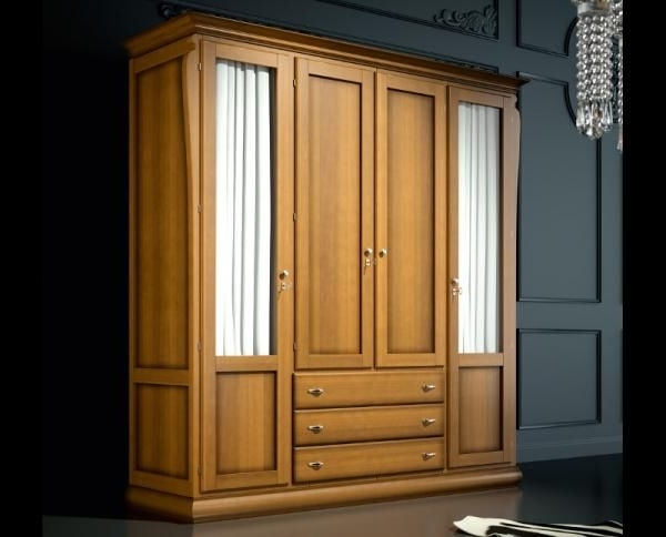 25 Best Solid Wood Wardrobes Ideas On Pinterest Modern Wardrobe very well in Solid Dark Wood Wardrobes (Image 9 of 30)