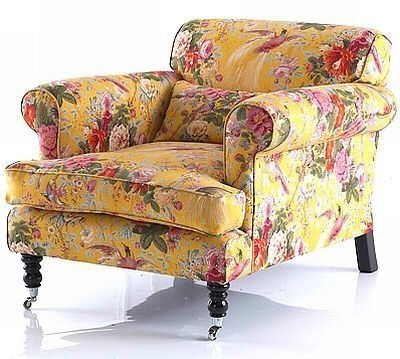 253 Best Decorating With Yellow Images On Pinterest nicely pertaining to Floral Sofas and Chairs (Image 6 of 20)