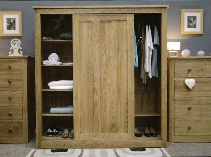27 Best Wardrobes Images On Pinterest properly pertaining to Oak Wardrobe With Drawers and Shelves (Image 19 of 30)