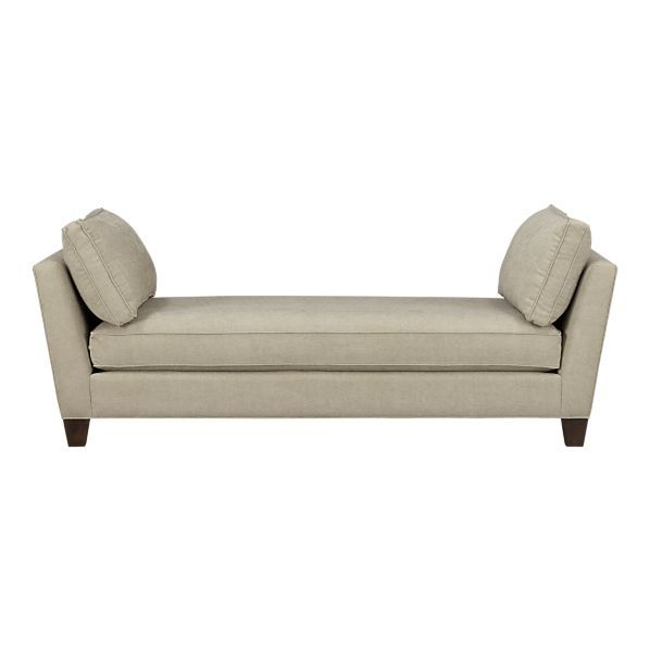 28 Best Chaise Images On Pinterest nicely for Backless Chaise Sofa (Image 3 of 20)