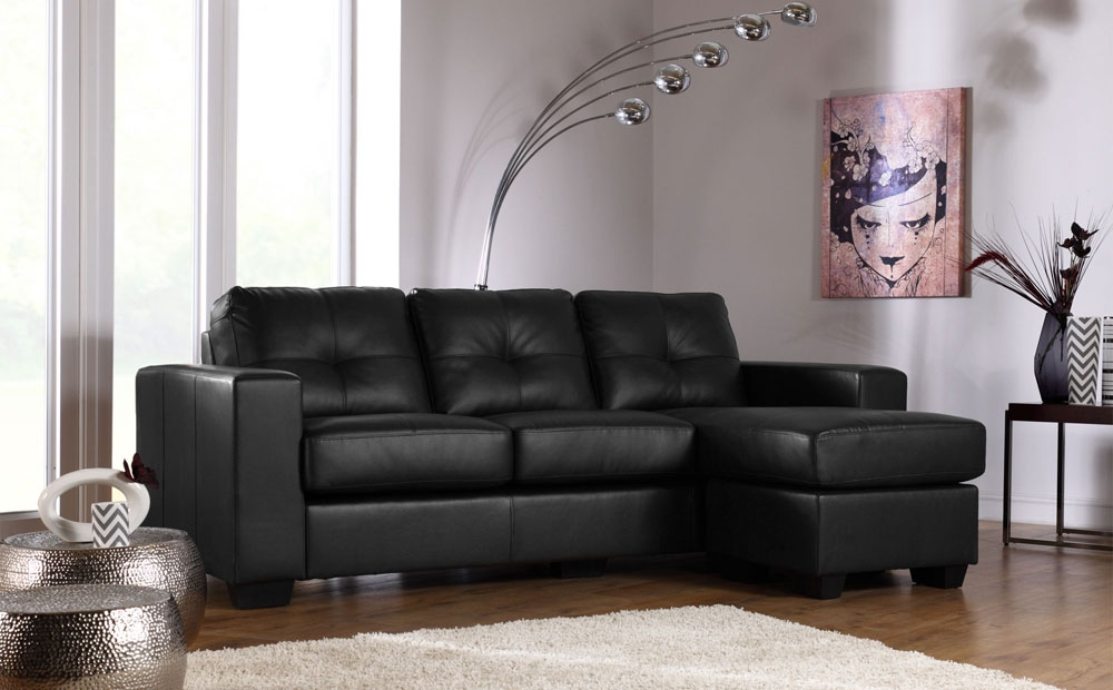 28 Leather Corner Sofas Auto Auctions properly for Large Black Leather Corner Sofas (Image 2 of 20)