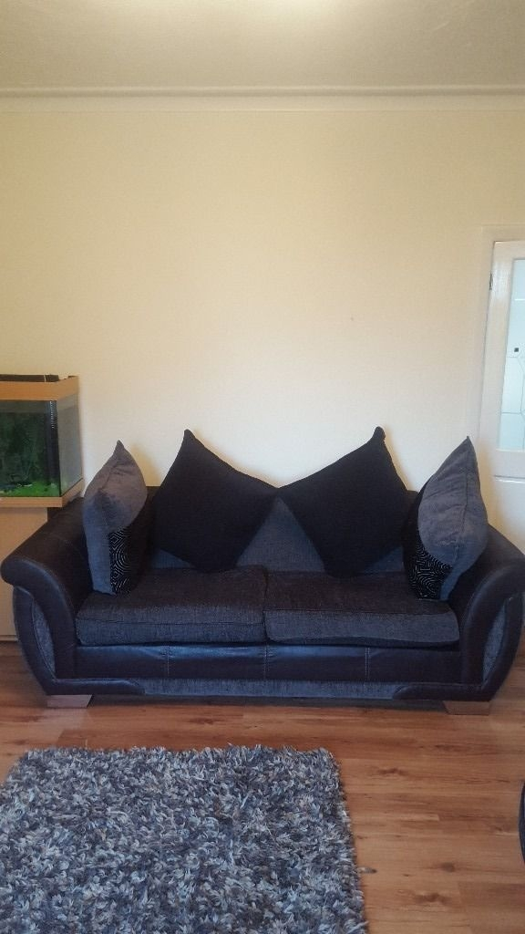 3 Seater Sofa And Cuddle Chair In Batley West Yorkshire Gumtree good with 3 Seater Sofa and Cuddle Chairs (Image 4 of 20)