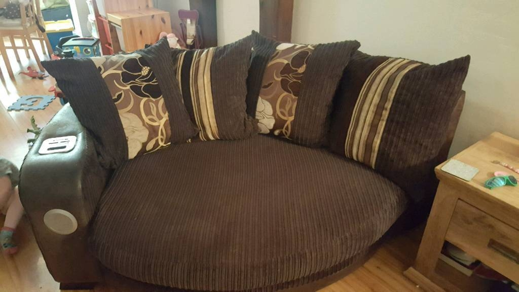 3 Seater Sofa And Cuddle Chair In Northwich Cheshire Gumtree good pertaining to 3 Seater Sofa and Cuddle Chairs (Image 6 of 20)