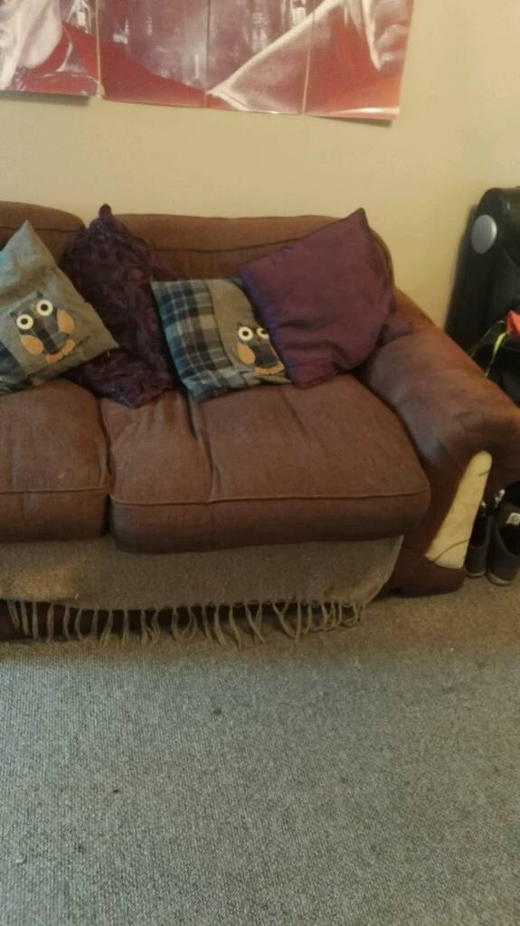 3 Seater Sofa And Cuddle Chair In Warsop Nottinghamshire Gumtree nicely throughout 3 Seater Sofa and Cuddle Chairs (Image 8 of 20)