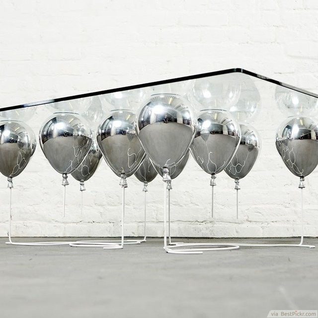 30 Unique Coffee Tables Cool Design Ideas For Unusual Living effectively for Floating Glass Coffee Tables (Image 1 of 20)