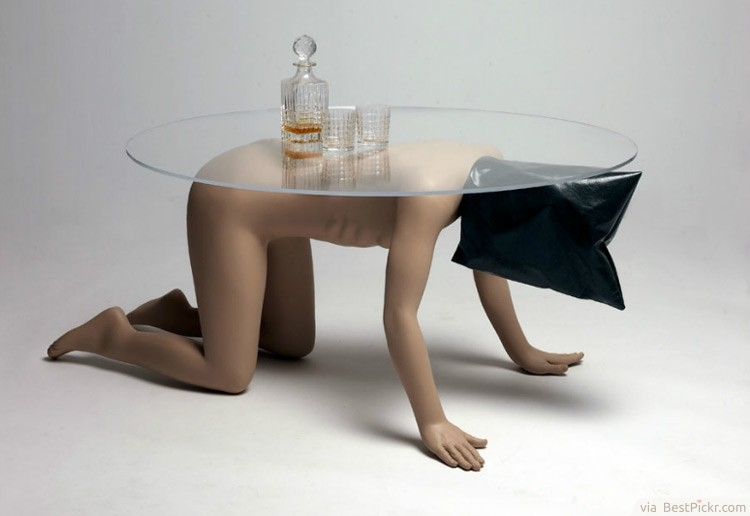 30 Unique Coffee Tables Cool Design Ideas For Unusual Living good in Art Coffee Tables (Image 1 of 20)