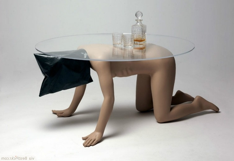 30 Unique Coffee Tables Cool Design Ideas For Unusual Living very well with regard to Unusual Glass Coffee Tables (Image 2 of 30)