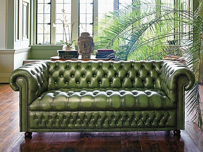 32 Best Chesterfield Sofa Images On Pinterest Well Pertaining To Tufted Leather Chesterfield Sofas (Photo 4 of 20)