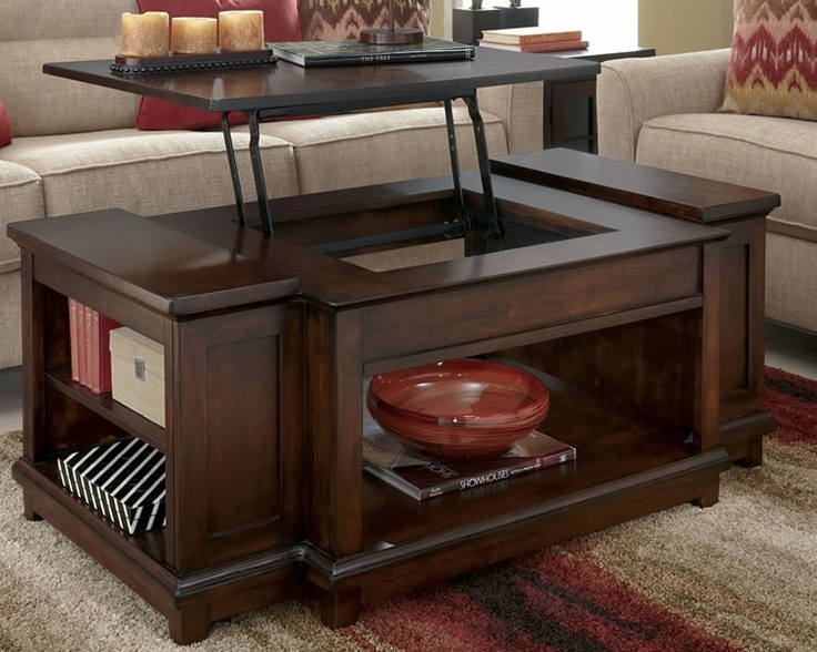 32 Best Lift Up Coffee Table Images On Pinterest properly in Coffee Tables Top Lifts Up (Image 2 of 20)