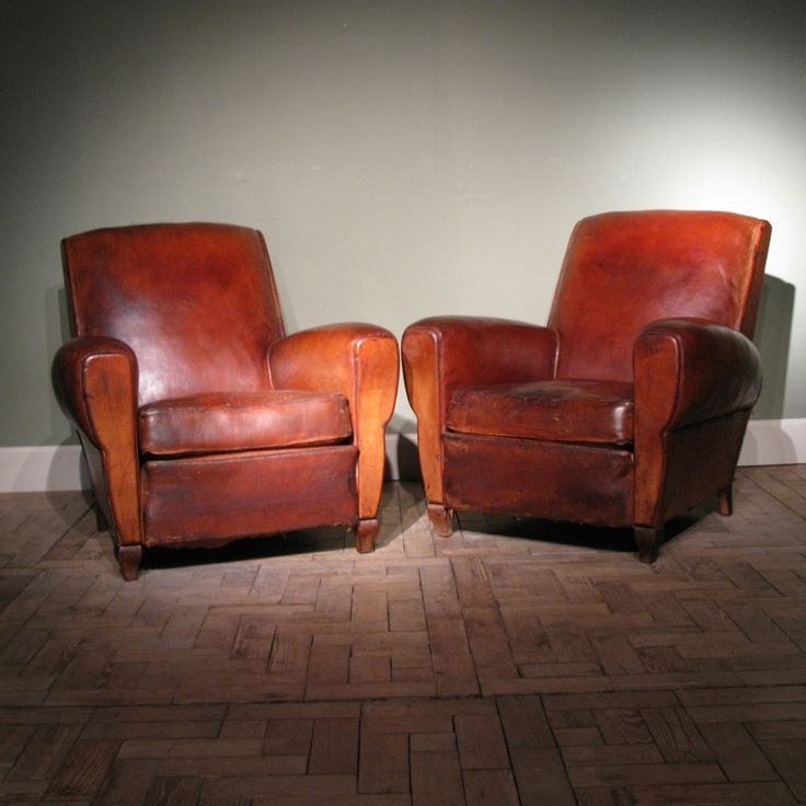 32 Best Vintage Leather Armchairs Images On Pinterest most certainly for Vintage Leather Armchairs (Image 2 of 20)