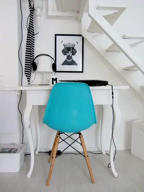 375 Best Blue Chair Images On Pinterest very well within Small Armchairs Small Spaces (Image 5 of 20)