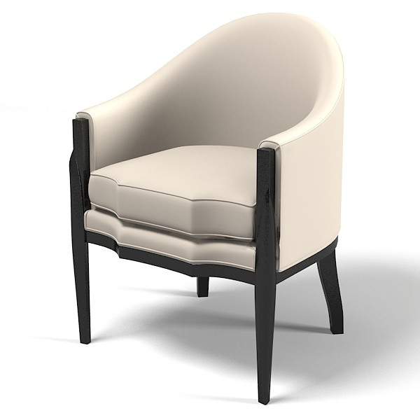 3d Model Eve Furniture Ebas Eve Furniture Ebas Modern Art Deco good regarding Contemporary Sofa Chairs (Image 1 of 20)