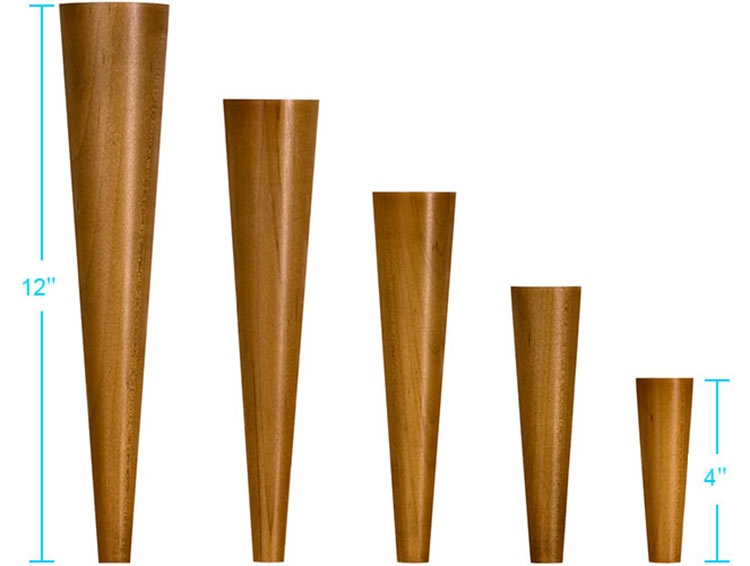 4 Sources For Mid Century Modern Furniture Legs Retro Renovation good inside Wood Legs Sofas (Image 2 of 20)