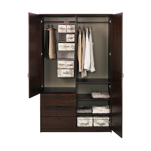 41 Best Home Images On Pinterest clearly within Wardrobe With Shelves And Drawers (Image 7 of 30)