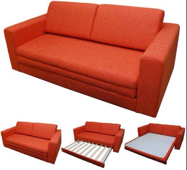 45 Best Sofa Images On Pinterest nicely regarding Red Sofa Beds IKEA (Image 2 of 20)