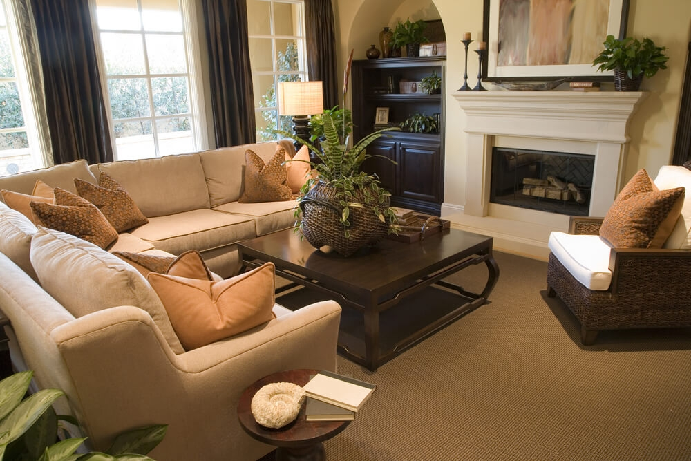 45 Contemporary Living Rooms With Sectional Sofas Pictures nicely with Coffee Table For Sectional Sofa (Image 1 of 20)