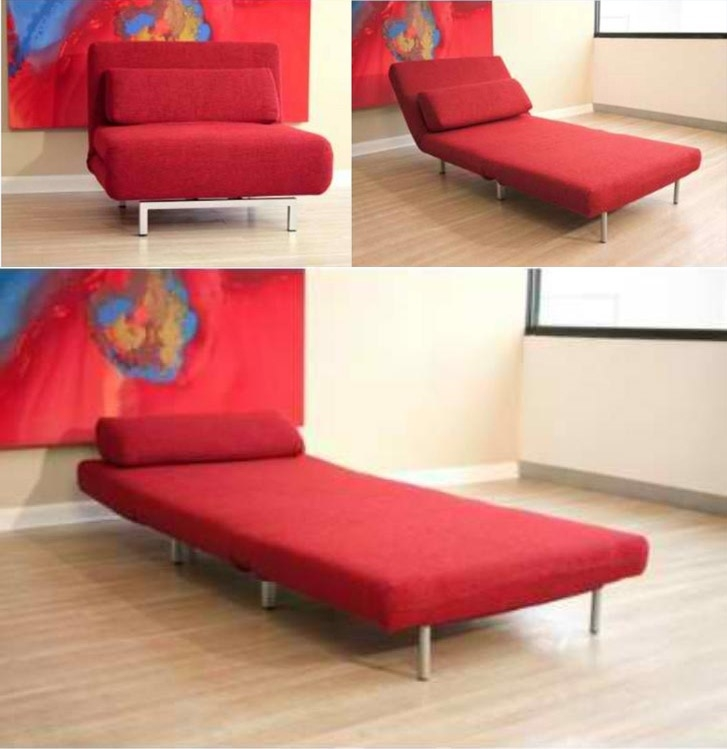 48 Best Chair Sleeper Bed Images On Pinterest Nicely Within Convertible Sofa  Chair Bed (Image