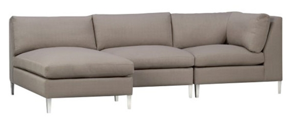 5 Apartment Sized Sofas That Are Lifesavers Hgtvs Decorating nicely intended for 6 Foot Sofas (Image 3 of 20)